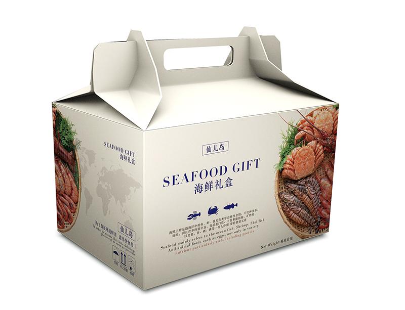 海鲜礼盒包装