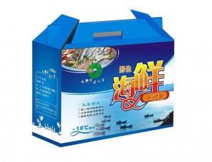 大连海鲜礼盒包装